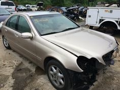 2003 #MercedesBenz C-Class for parts only! Searching for auto parts, Look no more, We carry EVERYTHING! www.asapcarparts.com  #asapcarparts #carparts #autoparts #charlottenc