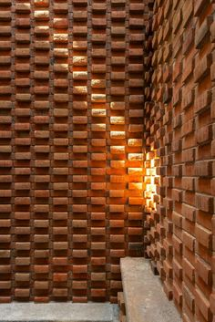 Image 11 of 19 from gallery of Social Housing / MAP/MX + Grupo Nodus. Photograph by Rafael Gamo Brick Architecture, Architecture Details, Interior Architecture, Brick Interior, Brick In The Wall, Brick And Stone, Brick Design, Wall Design, Brick Patterns