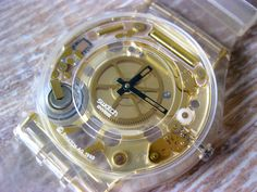 GOLDEN JELLY SKIN Swatch Skin (SFK101)  Swatch Club 1998