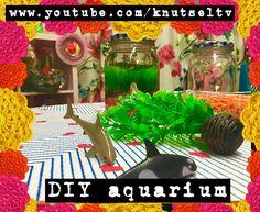 Een leuke DIY voor jou! Mag je geen huisdier van je ouders? Geeft niet, knutsel gewoon je eigen aquarium! Op www.youtube.com/knutseltv vind je de DIY video