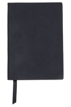 Shop Smythson Textured-leather Notebook In Black from stores. Smythson, Leather Notebook, Midnight Blue, Texture, Shopping, Style, Surface Finish, Swag, Outfits