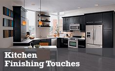 Kitchen Finishing Touches Window Coverings, Cabinet Hardware, It Is Finished, Touch, Homes, Flooring, Paint, Big, Heart