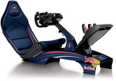 Playseats, the maker of the limited edition Takuma Sato Playseat, has now taken wraps off the new F1 Red Bull seat, the new Playseat F1 race game simulator for home that's been designed to enrich motorsport fans with a real race experience