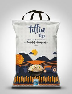 A few package design options for Tiffin top a rice packaging brand Chip Packaging, Rice Packaging, Coffee Packaging, Bottle Packaging, Product Packaging, Packaging Ideas, Food Menu Design, Food Packaging Design, Packaging Design Inspiration
