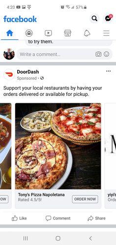 Restaurant Delivery, Pepperoni, Food, Meals, Yemek, Eten