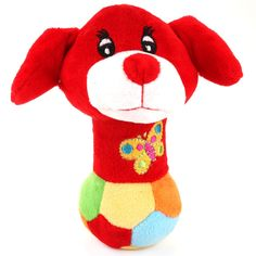 Chiwava Pet 6.7'' Squeak Plush Dog Toy Stuffed Lovely Puppy with Ball Soft Puppy Play ** Check out this great product. (This is an affiliate link and I receive a commission for the sales)