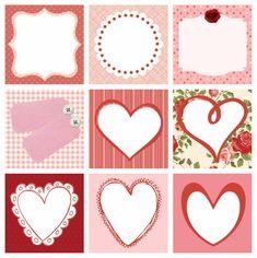 Partty - Fiestas temáticas y decoración para fiestas: Etiquetas para San Valentin gratis