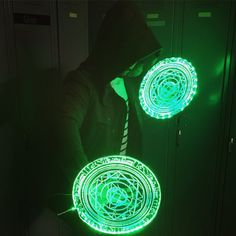 Dr Strange Light up LED Spell disc prop ( cosplay, halloween, conventions )