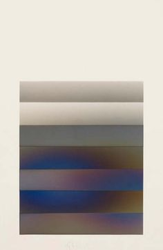 Larry Bell – Vapour Drawing, MS36, 1978