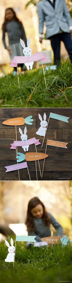 #EasterEggHunt #DIYEaster www.LiaGriffith.com