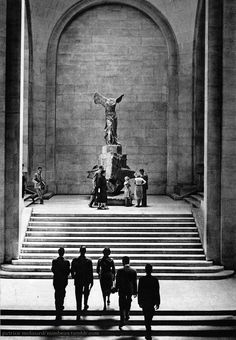 Le Louvre Museum Paris 1950s Patrice Molinard