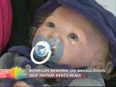 Bonecos reborn imitam as feições reais de bebês - YouTube