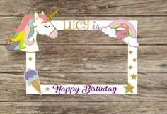 Excited to share this item from my shop: Unicorn Photo Booth Frame/Unicorn Party Selfie Frame - Unicorn Party Decorations Birthday Frame perfect pictures Birthday Party Decorations Diy, Craft Party, Birthday Party Themes, Cadre Photo Booth, Photo Booth Frame, Party Frame, Unicorn Themed Birthday Party, Photos Booth, Unicorn Pictures