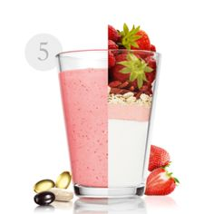 Too Much Sugar in Fruit Smoothies? Healthy smoothies with less sugar. Healthy Fruit Smoothies, Energy Smoothies, Healthy Fruits, Weight Loss Smoothies, Oriflame Cosmetics, Nutrition Drinks, Yogurt, Tableware, Ethnic Recipes