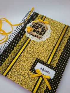 Decorated Notebooks, Altered Composition Notebooks, Diy Notebook Cover, Do It Yourself Crafts, Book Journal, Scrapbooking, Album, Cards, College Notebook