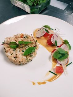 So here it is ladies and gents! The first recipe! It's a great starter, and I promise you that every person you make this for, will be amazed. It's a crab dish, with many deep flavours to tease you…