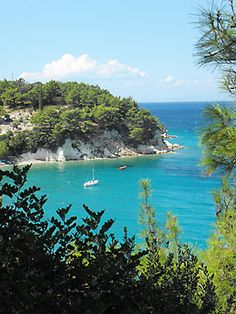'Greek Island Beach Samos 4 Photographic Print by SlavicaB Beach Honeymoon Destinations, Travel Destinations, Places To Travel, Places To See, Samos Greece, Costa, Romantic Vacations, Romantic Travel, Places In Greece