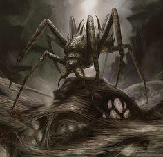 Araña fantastica