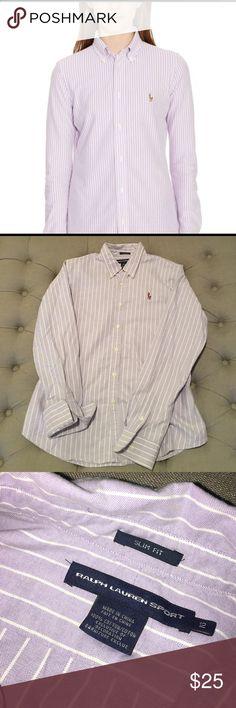 Ralph Lauren Sport | Button Down Shirt Ralph Lauren Sport | Button Down Shirt, Size 12 Slim Fit Ralph Lauren Tops Button Down Shirts