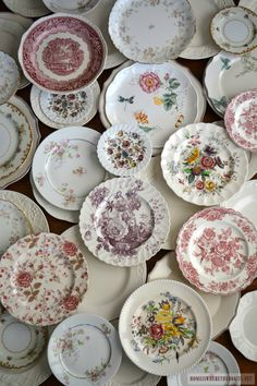 Transferware and white dishes | homeiswheretheboatis.net