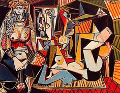Pablo Picasso - The Women of Algiers, 1955