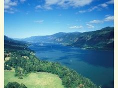 The Columbia River Gorge, an 80-mile geologic wonder that forms the border between northern Oregon and southern Washington, is proof of Nature's unbridled strength. Glacial floods thousands of years ago carved this 1,243-mile-long river, which is the only sea-level passage to cross the Cascade Mountains. With cliffs rising as high as 4,000 feet, the Gorge acts as a funnel for North America's fourth largest river, whose tributaries include the mighty Snake River.