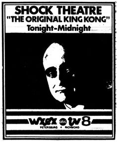Nothing beat the campy fun of watching Bowman Body hosting horror movies on Shock Theatre on WXEX TV 8 on old tube TVs!