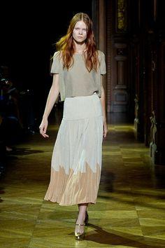 Full Skirt spotted at Sonia Rykiel Spring 2014 #pfw #ss14