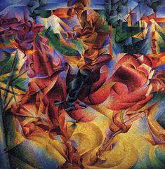 Elasticità (1912) Umberto Boccioni