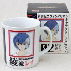 Evangelion Rei Ayanami Character Mug JAPAN ANIME MANGA