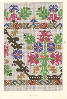 Cross Stitch Rose, Cross Stitch Samplers, Cross Stitch Embroidery, Embroidery Patterns, Cross Stitch Patterns, Textile Design, Bohemian Rug, Needlework, Bargello