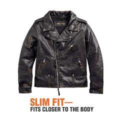 Brilliant options to consider Lambskin Leather Jacket, Faux Leather Jackets, Leather Men, Windbreaker Jacket, Harley Davidson, Biker, Custom Motorcycles, Mens Fashion, Moda Masculina