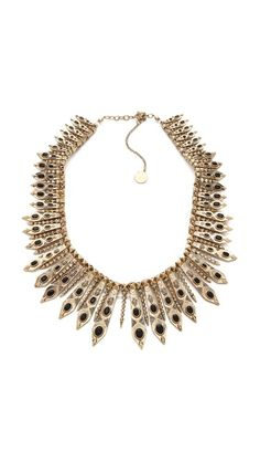 House of Harlow 1960 Gypsy Feather Necklace