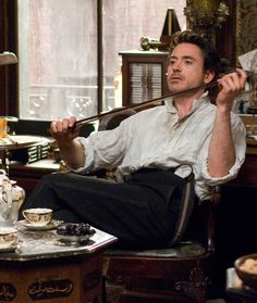 Still of Robert Downey Jr. in Sherlock Holmes. Sherlock Holmes Robert Downey, Robert Downey Jr., Sherlock John, Tony Stank, Holmes Movie, Guy Ritchie, Mrs Hudson, Avengers, Iron Man Tony Stark