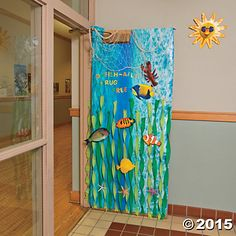 Under the Sea Door Decoration Idea