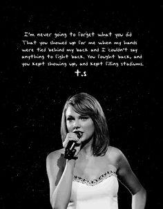Nunca olvidaré lo que hiciste. Apareciste cuando mis manos estaban atadas a mi espalda y no pude decir nada para defenderme. Te defendías, y seguías apareciendo, y seguías llenando estadios❤❤