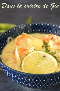 Voici une recette détox et légère comme je les aime, c'est léger, rassasiant et tellement exotique. Les épices dans les soupes, j...