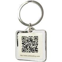 QR Code Pet ID Tag Accessory w/ Smartphone GPS Tracking Pet Dwelling http://www.amazon.com/dp/B00C2BJ0UQ/ref=cm_sw_r_pi_dp_P0MGub1ST49F7