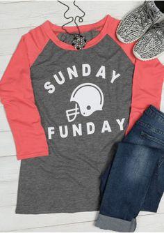 de84d6f2810 Sunday Funday Football Helmet Baseball T-Shirt Pajama Shorts