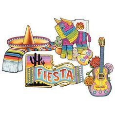Del Sol Drapeau Bannière Fiesta Mexicaine Décorations cinco de mayo espagnol Parti ~ 12/'