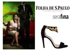 Débora Bloch estrela editorial de moda com sandálias Guilhermina.
