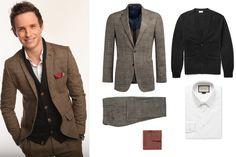 Cómo vestir como: Eddie Redmayne