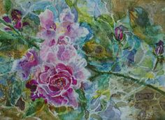 pictures of collage with rice papers | collage work with washi and rice papers watercolor india inks usd 400 ...