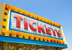 Royalty-free Image: Tickets sign at fairgrounds Stock Pictures, Stock Photos, School Fair, Island Pictures, Logo Sign, Coney Island, Image Now, Royalty Free Images