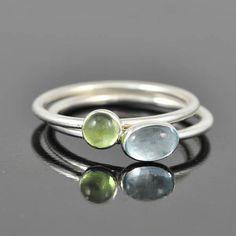 Sky blue Topaz ring, december, birthstone ring, oval, gemstone ring, birthstone ring, sterling silver ring, bezel set, stackable ring
