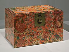 "Lacquer box, ""Box with Design of Auspicious Motifs"", Korean, Joseon dynasty, late 18th-early 19th century, at the Saint Louis Art Museum, in Saint Louis, Missouri, USA by msabeln, via Flickr"
