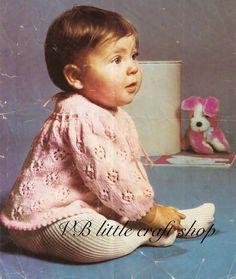 Baby's top knitting pattern. Instant PDF download! by VBlittlecraftshop on Etsy