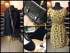 4 Ladies & More Consignment Boutique - Sparrow Dress and Black Cape (https://www.facebook.com/pages/4-Ladies-More-Consignment-Boutique/179205538782156?ref=hl)