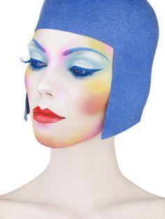 Make up by Alex Box halloween