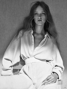 Mildred Gustafsson by Boe Marion for Elle Sweden May 2015